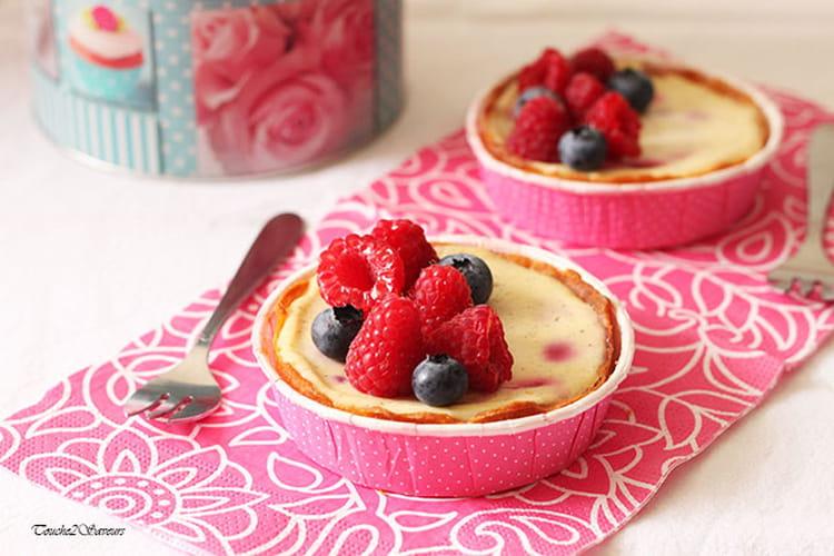 Recette de Tarte cheesecake aux fruits rouges : la recette ...