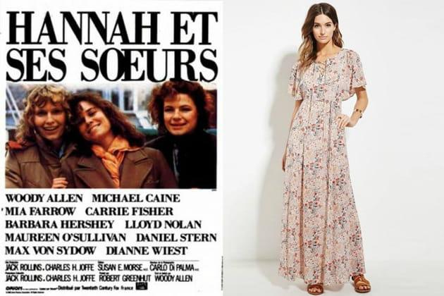 """Une robe romantique façon Hannah dans """"Hannah et ses sœurs"""""""