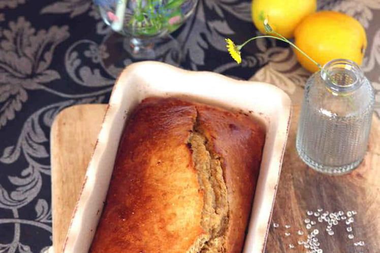 Cake au citron et son d'avoine IG bas