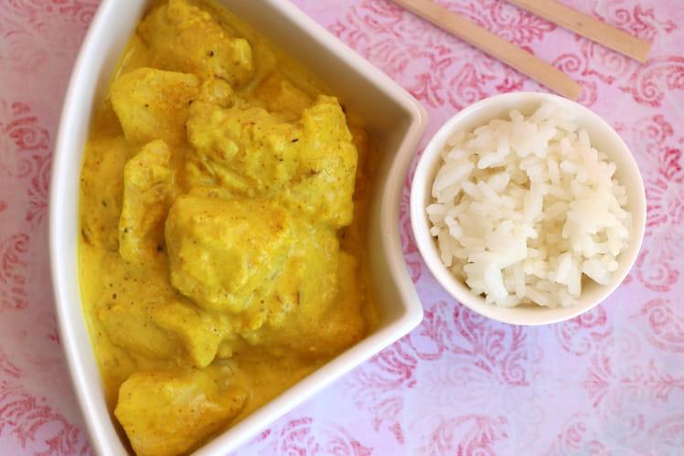 Poulet thaï au curry rouge