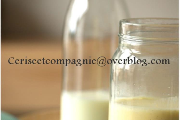 Crème anglaise magique