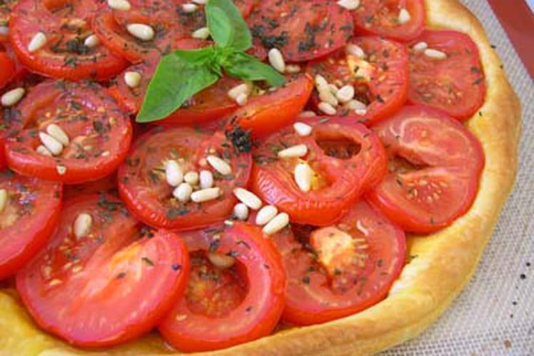 Tarte à la tomate délicieuse