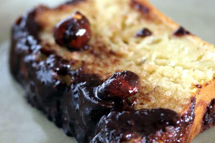 Cake au yaourt nappage au chocolat