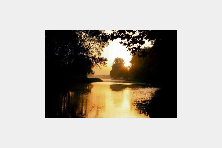Lever de soleil à Portiragnes