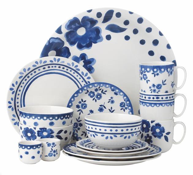 Vaisselle Delft Blue