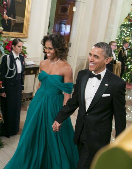 Michelle Obama le 8décembre 2013
