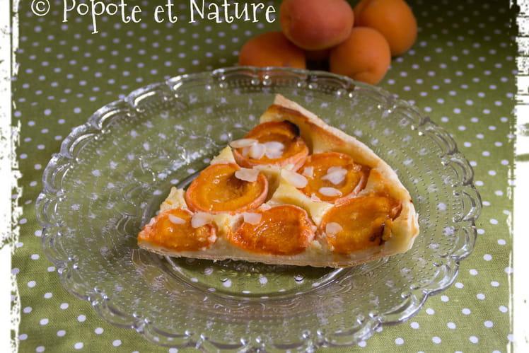Tarte amandine aux abricots et sa crème d'amandes
