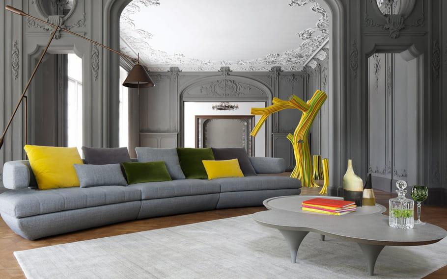 canap kerria par roche bobois le canap modulable s 39 adapte toutes nos envies journal des. Black Bedroom Furniture Sets. Home Design Ideas