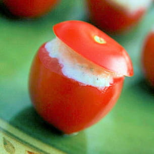 tomates cerise fraîcheur d'été