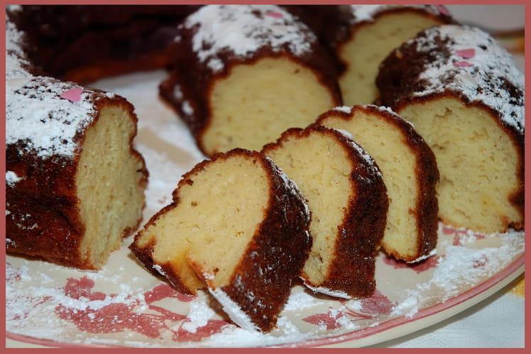 Gâteau aux petits-suisses à l'orange