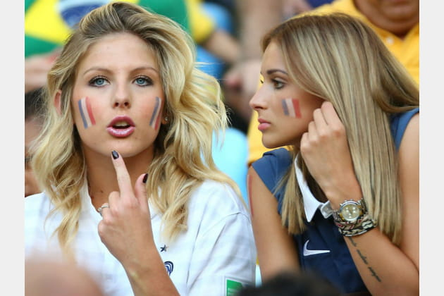 Supportrices sexy Coupe du monde 2014 Wags