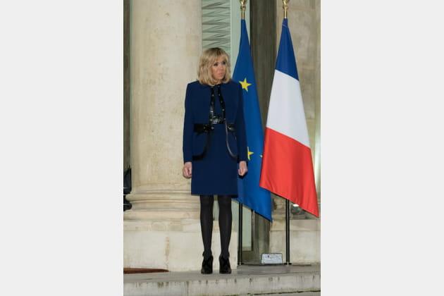 Brigitte Macron le 27janvier 2018