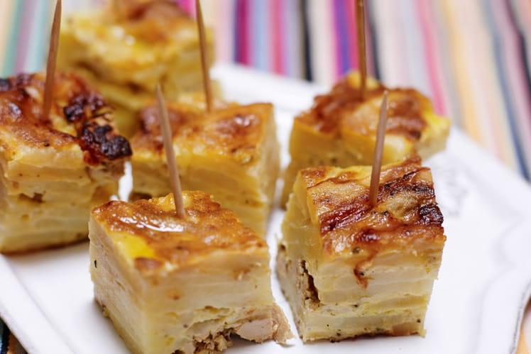 Tortilla au foie gras et au poivre de Sichuan