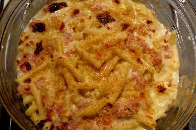 Macaronis au gratin