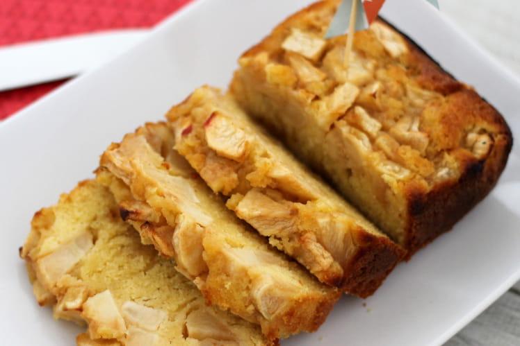 Cake aux pommes tout moelleux