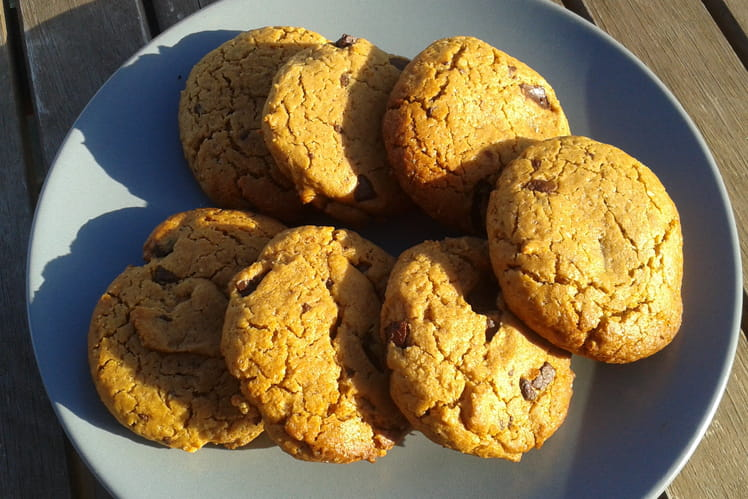 Cookies beurre de cacahuète sans gluten