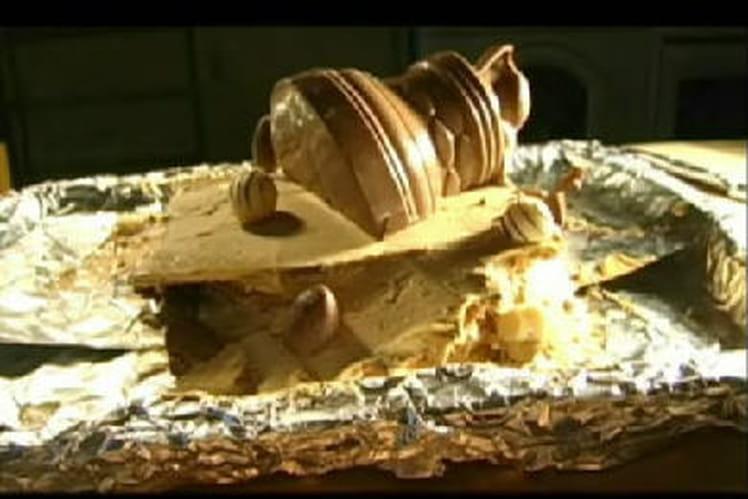 Gâteau Thé Brun au café