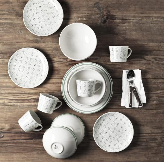 Vaisselle style scandinave