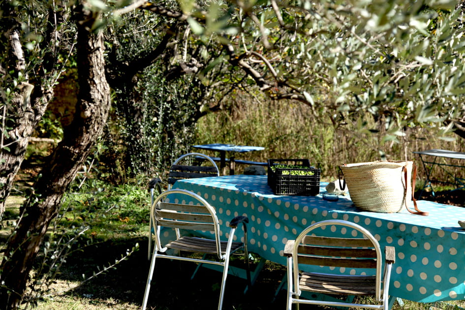 Une nappe turquoise