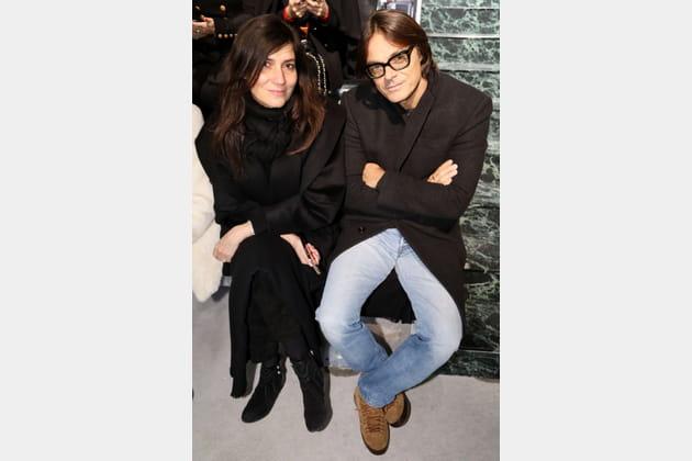 Emmanuelle Alt et Mario Sorrenti