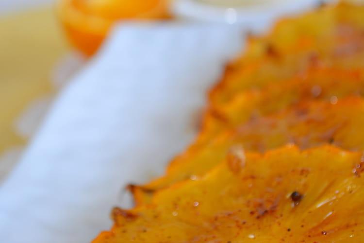 Ananas Victoria rôti aux épices