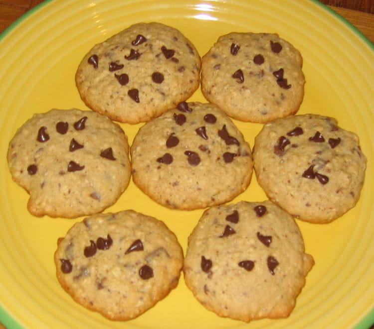 recette de cookies aux flocons d 39 avoine express la recette facile. Black Bedroom Furniture Sets. Home Design Ideas