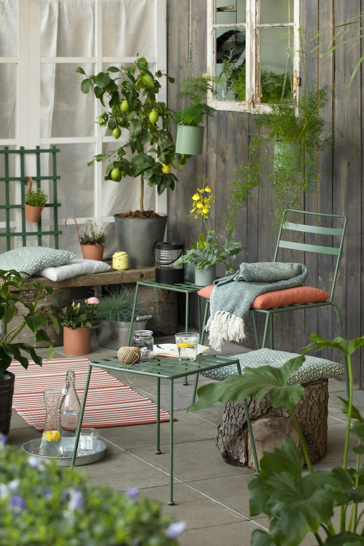 Une collection id ale pour les balcons et terrasses - Deco jardin journal des femmes toulouse ...