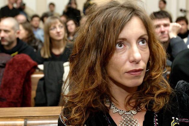 Krisztina Rady lors du procès