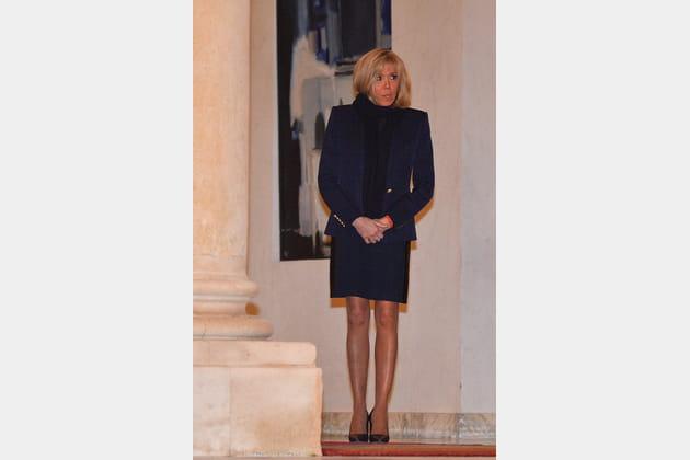 Brigitte Macron le 17décembre 2018