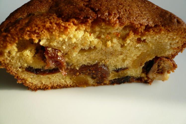 Gâteau d'hiver aux 6 fruits secs