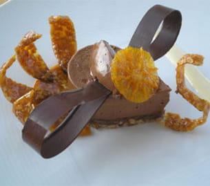 paon chocolat et nougatine