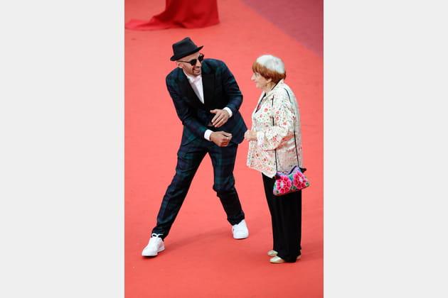 JR et Agnès Varda : duo pas cliché