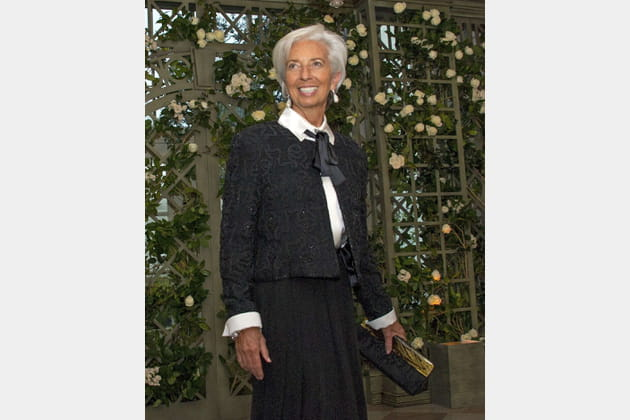 Christine Lagarde, directrice du FMI