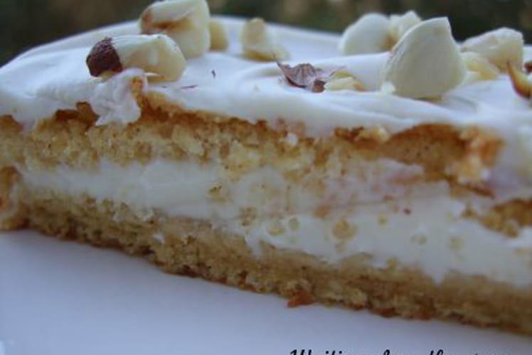 Gâteaux à la cannelle, crème mascarpone citron