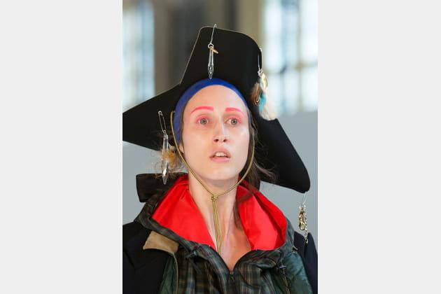 Le chapeau tricorne du défilé Maison Margiela