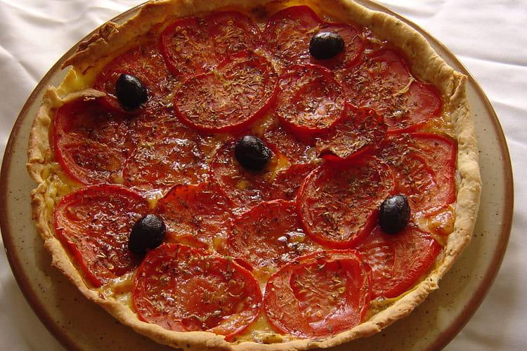 Tarte à la tomate et pâte brisée maison