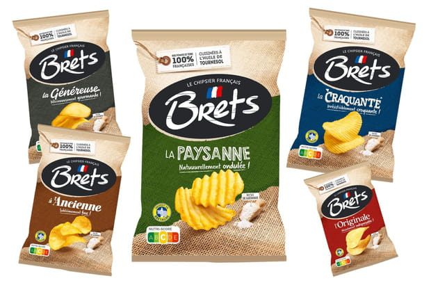 La gamme bretonne de Bret's