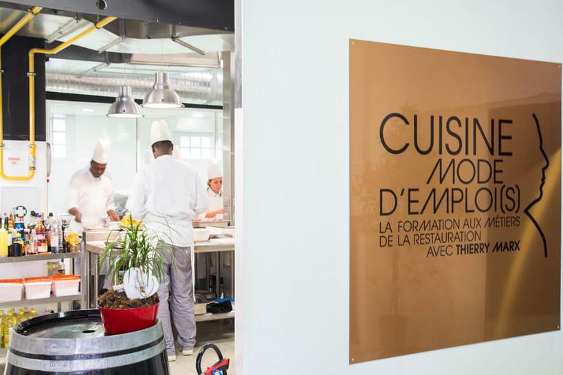 L 39 cole cuisine mode d 39 emploi s de thierry marx en images - Cours de cuisine thierry marx ...