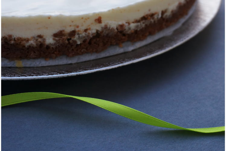 Key lime pie américaine