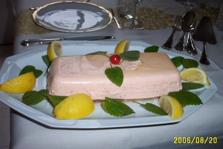 Mousse au saumon