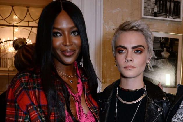 Naomi Campbell et Cara Delevingne: Riri à tout prix