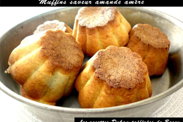 Muffin dukan saveur amande amère