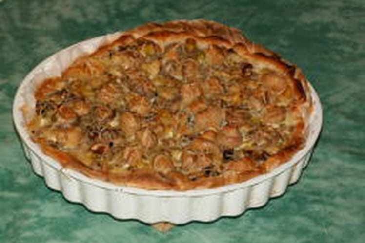 Quiche costaud