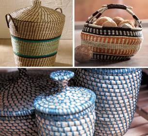 exposer des objets déco fabriqués à partir de matériaux naturels