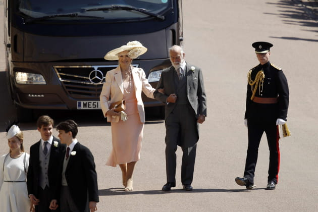 Le prince Michael de Kent et son épouse Marie-Christine von Reibnitz