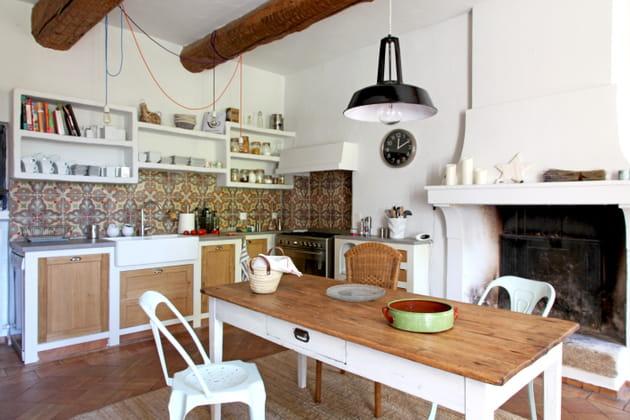 Une cuisine modernisée