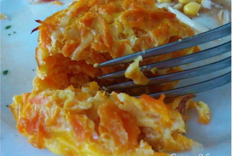 Flans aux carottes à la coriandre