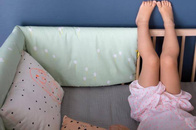 Tour de lit Ballons par Mimi'Lou