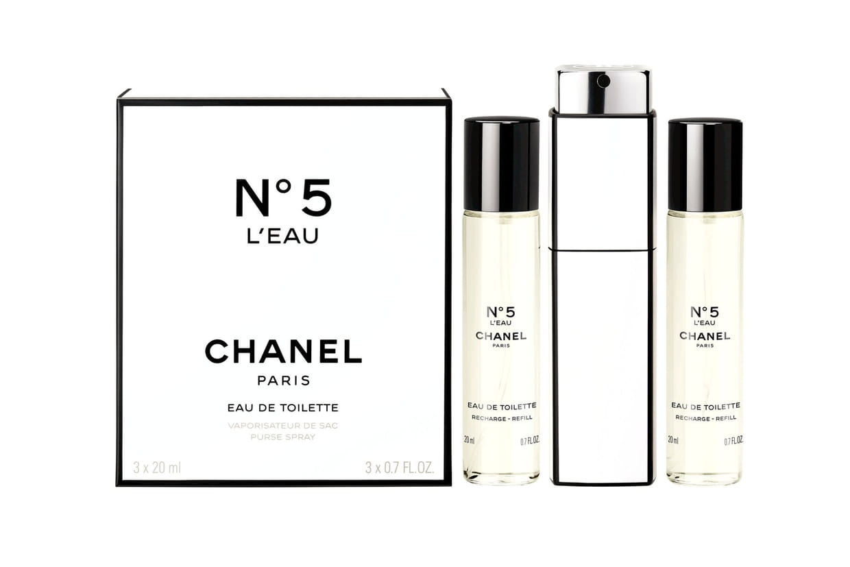 coffret n 5 l 39 eau twist and spray chanel. Black Bedroom Furniture Sets. Home Design Ideas