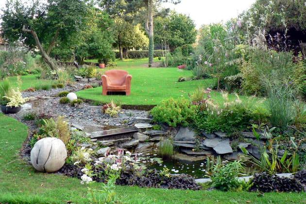 Création d'un jardin écologique et évolutif